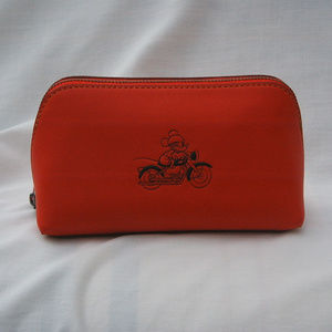 COACH X DISNEY MICKEY MOUSE COSMETIC CASE RED